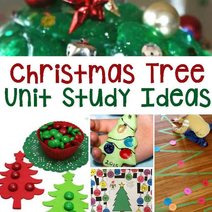 Christmas Tree Unit Study Ideas