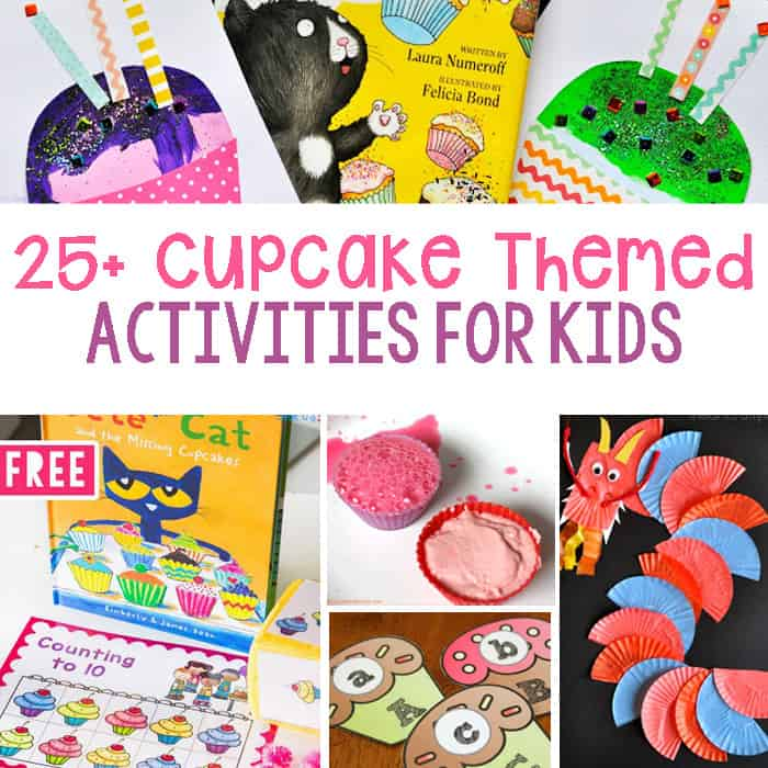Totally Cute Cupcake Learning Activities For Kids