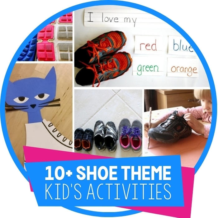 Fun Activities For A Shoe Theme Featured Image