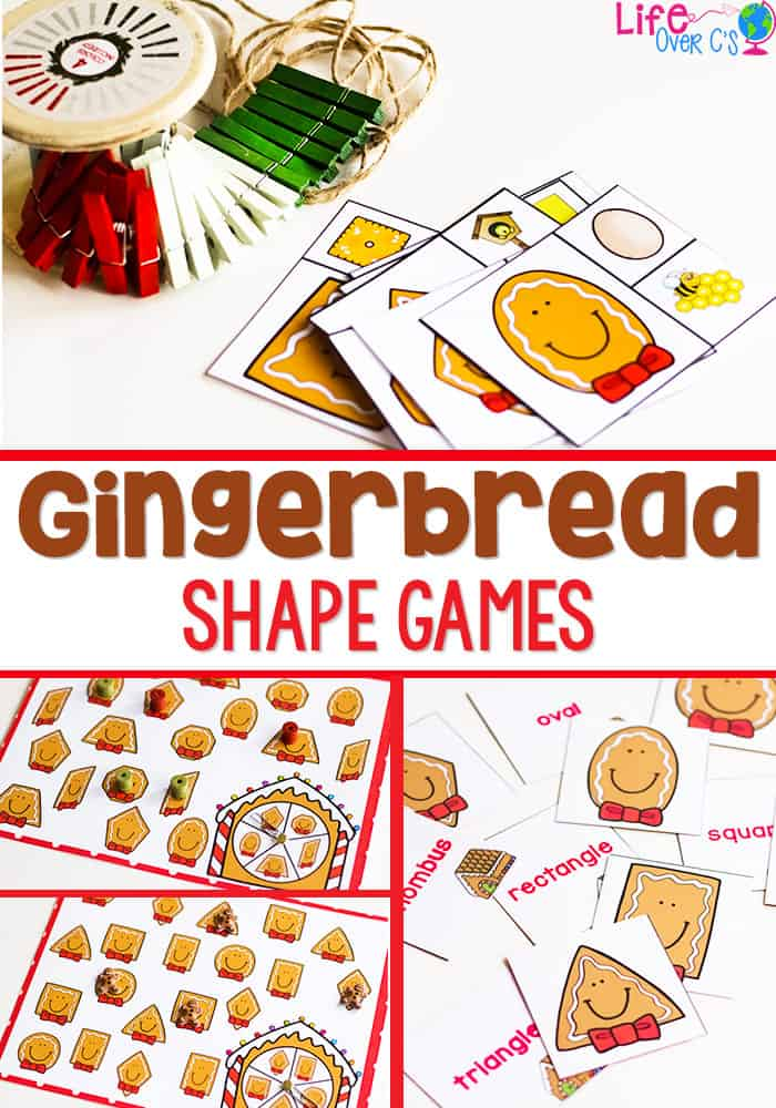 picture about Free Printable Christmas Cutouts identified as Absolutely free Printable Gingerbread Styles Routines - Lifetime Around Cs