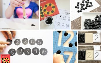 Ten Black Dot Inspired Activities - Math and Other Activities Inspired By The Fun Children's Book Ten Black Dots