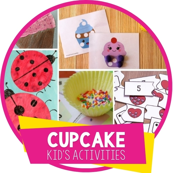 Totally Cute Cupcake Learning Activities For Kids Featured Image