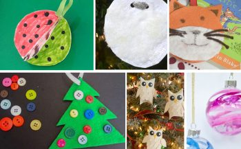 20+ Kid Made Ornament Ideas. Perfect ideas to do in the classroom, at home with kids or to give away as a gift.