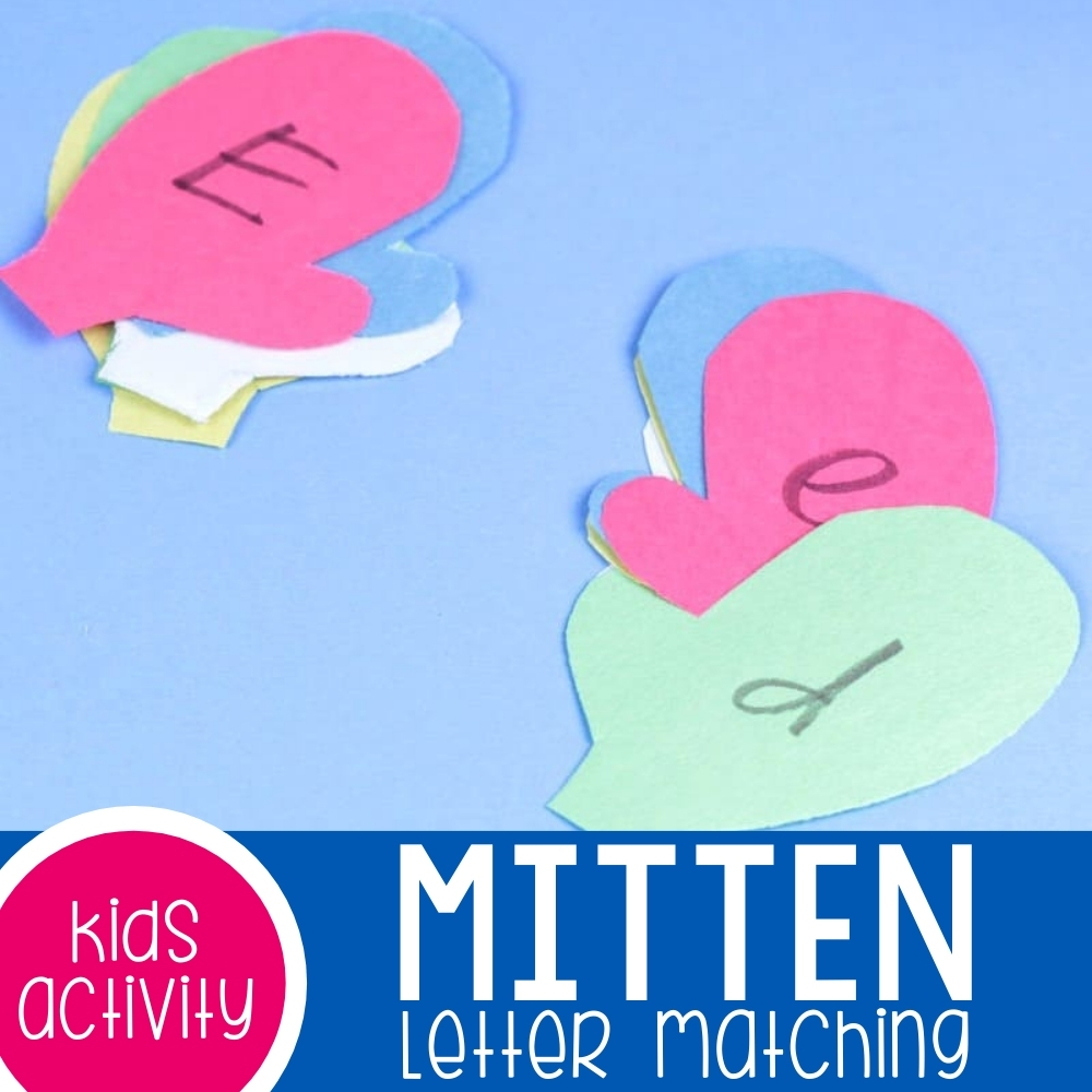 Mitten Letter Matching Featured Square Image
