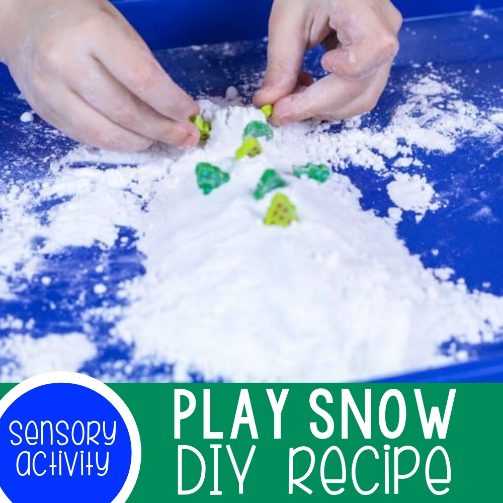 Make Your Own Play Snow