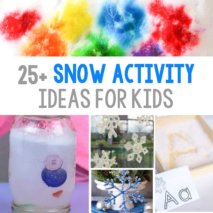 25+ Snowflake Theme Learning Activity Ideas For Kids