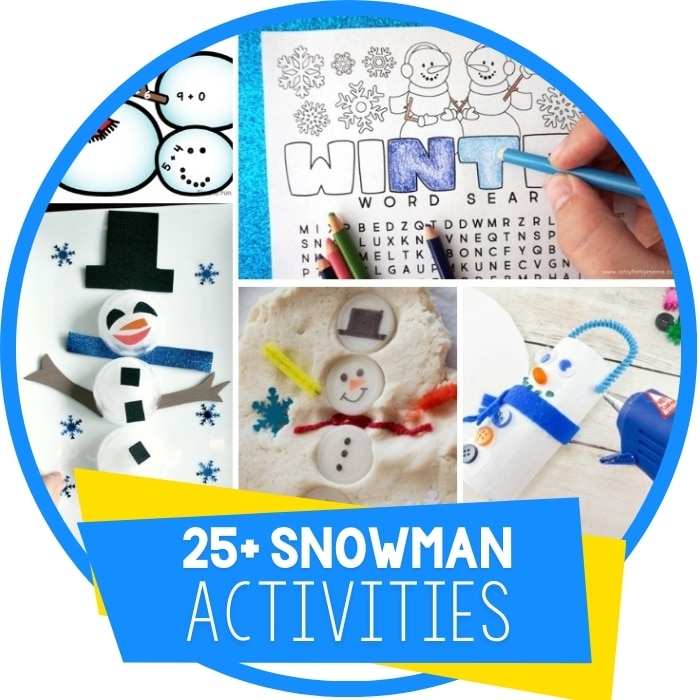 25+ Snowman Activities for Winter Themes