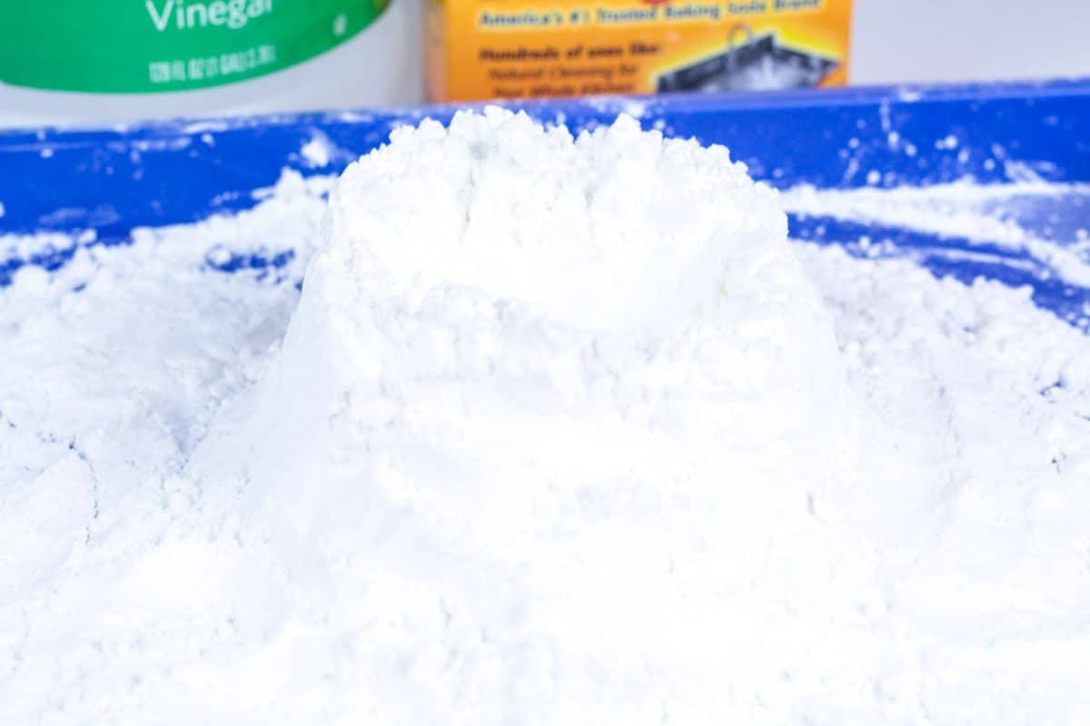 Snowy Winter Volcano Science Experiment For Kids