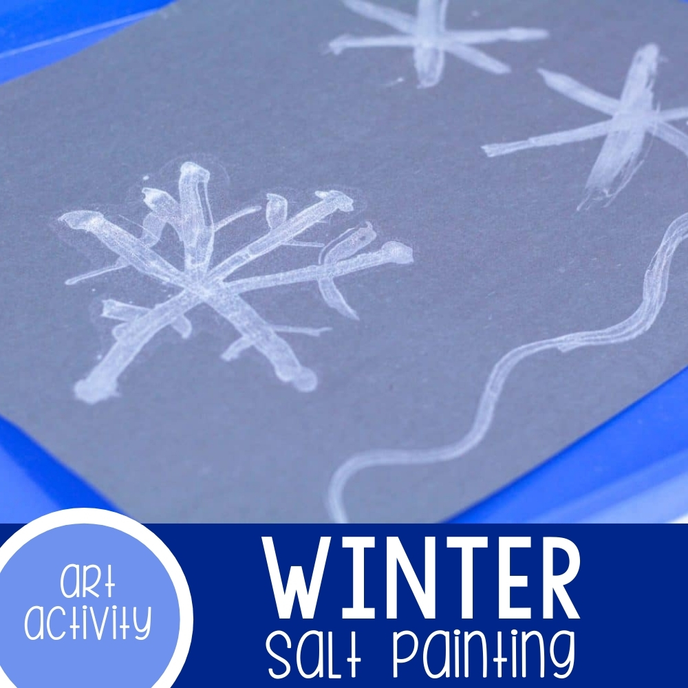 Winter Salt Painting Featured Square Image
