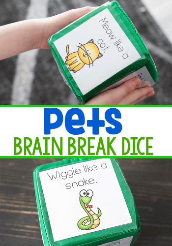 These free printable brain breaks for the classroom are easy to prep.