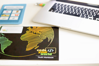 Encourage STEM learning with the Code Your World Challenge for National Youth Science Day.