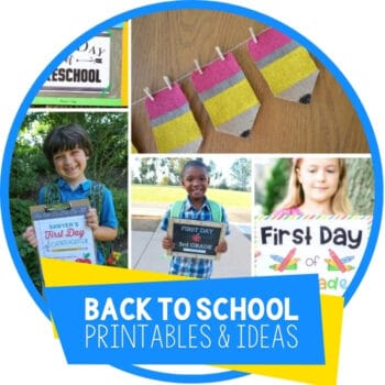 Ideas For Fun Back To School Photos & Other Ideas Featured Image
