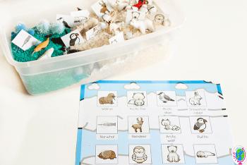 Free printable preschool matching game