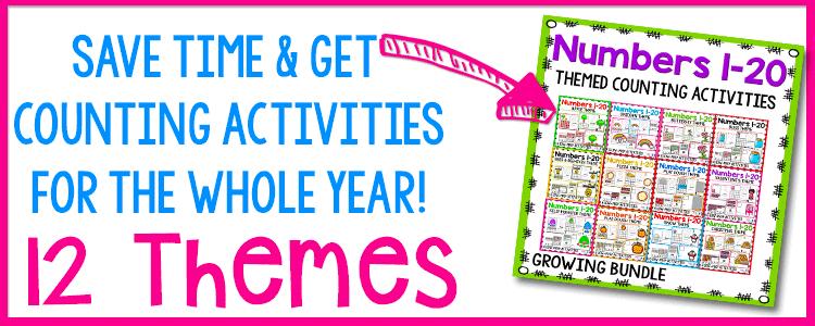 counting activities for preschool math activities
