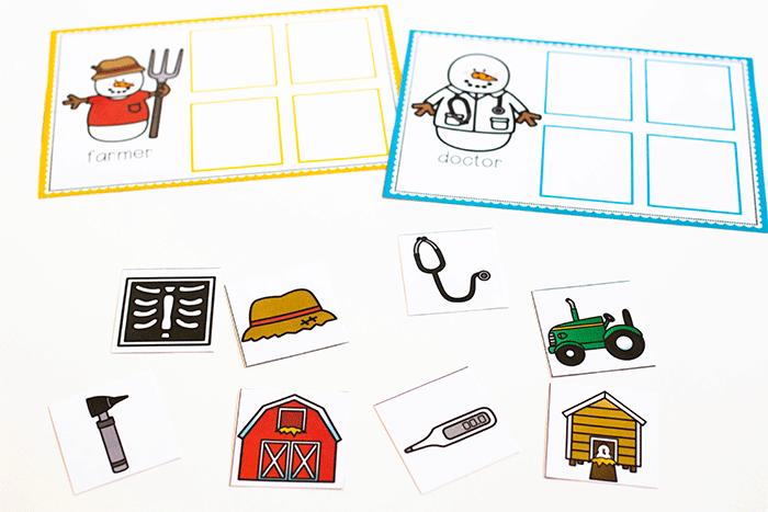 Free printable community helpers activities for preschool.