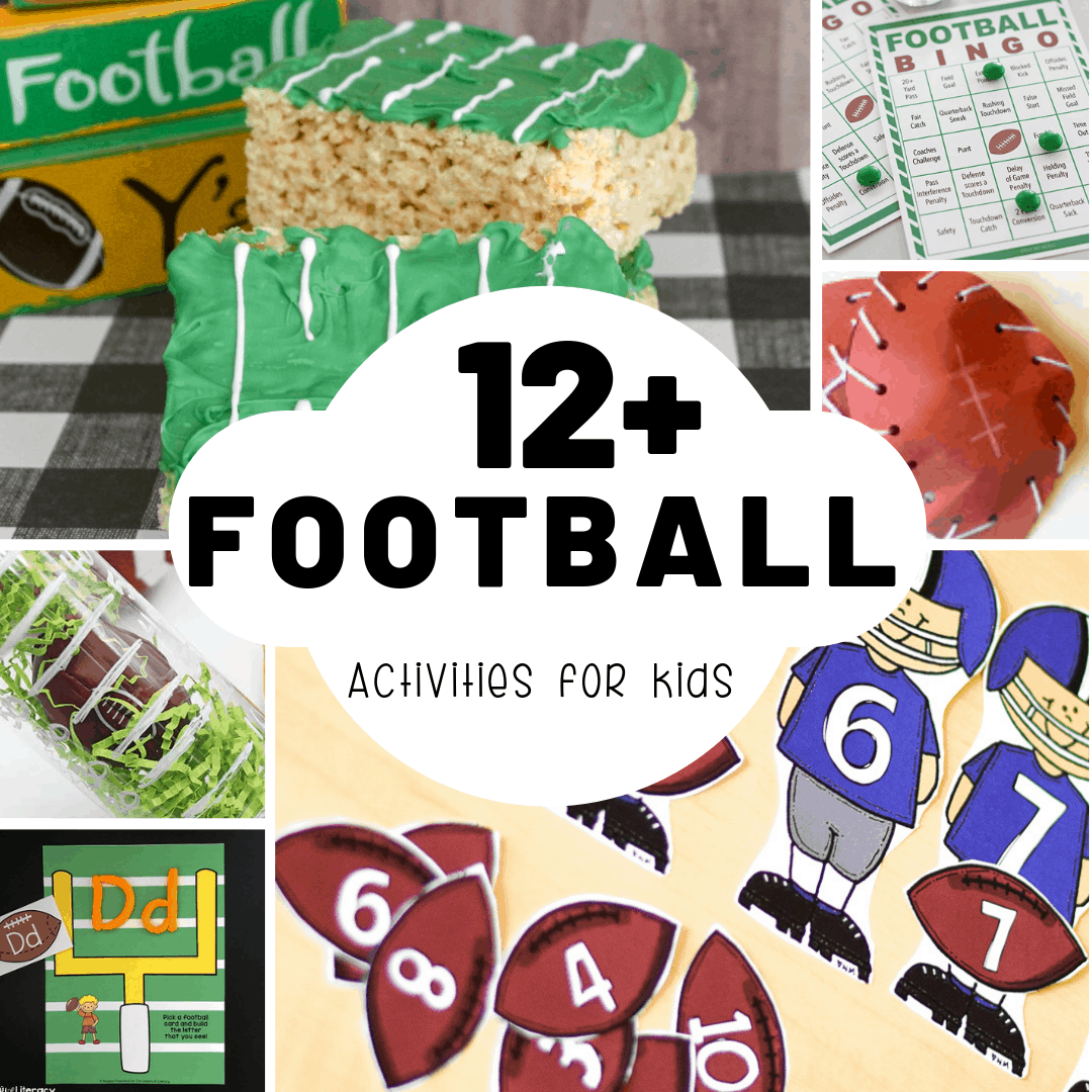 Free football activities for kids.