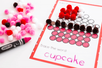 Free printable Valentine fine motor activities. Great for OTs and teachers.