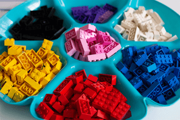 Free printable fine motor activities for your LEGO bricks.