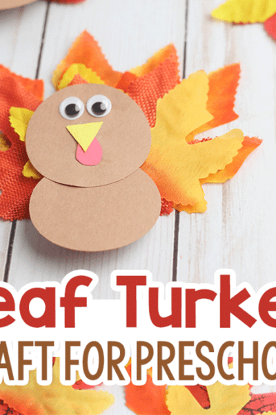Fall turkey craft for kids use as a Thanksgiving table decoration for the Thanksgiving Kids' table.