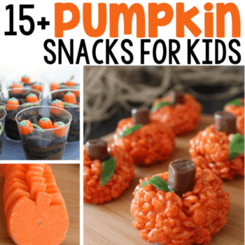Super cute Fall food that are simple to make for parties, classrooms, or snacks at home! Kids will love these!