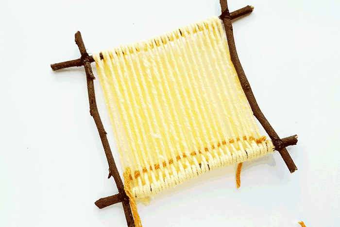 Start your weaving project for kids as a great way to work on fine motor skills with tweens and pre-teens.