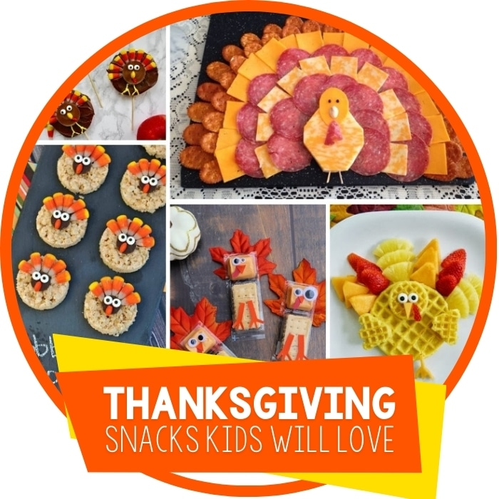 Thanksgiving Turkey Snacks For Kids