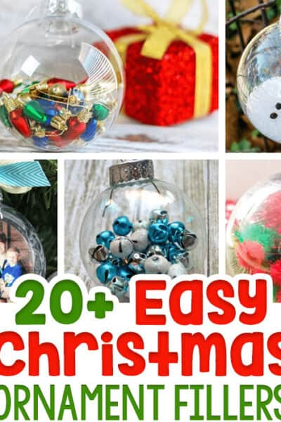 Christmas ornament crafts for preschoolers, kindergarteners and older kids to make during the Christmas season.