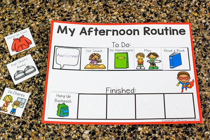 This free printable visual schedule for kids will help you have amazing mornings with your kids.