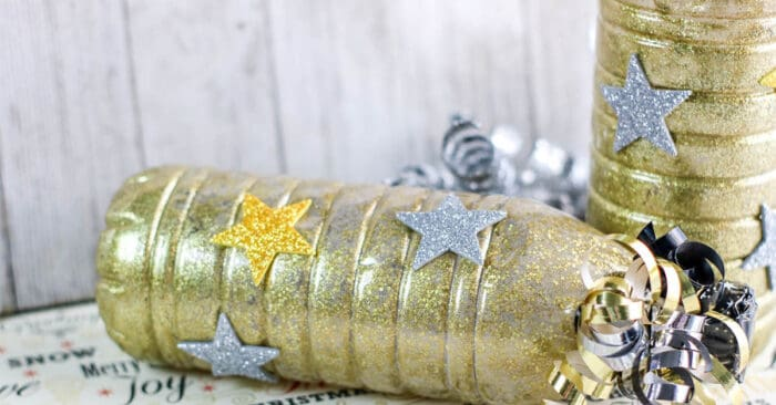 New Years Eve noisemaker craft for kids