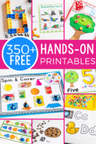 You CAN homeschool preschool on a budget! I've created more than 350 free preschool printables for you to teach your littlest learners at home.