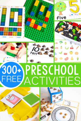 300+ free preschool activities for learning to start your students on the path to loving learning! Perfect for classrooms, home school, learning at home or anytime! Counting, Alphabet, matching, sorting activities, patterns and much more! Everything you need for an amazing preschool!