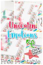 Free Unicorn Emotions Game