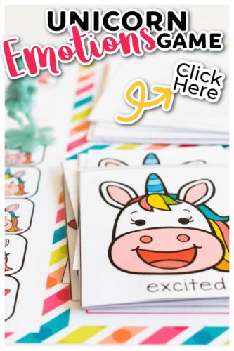 Free printable social emotional game for preschoolers