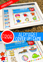 Free Alphabet Game for Google Slides. Perfect for introducing preschoolers and kindergarteners to beginning sounds!