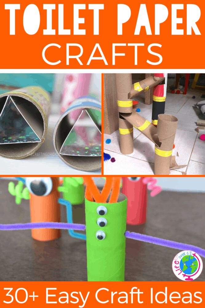 30+ toilet paper roll craft activities for kids! Use your empty paper rolls to make these STEM activities for kids!