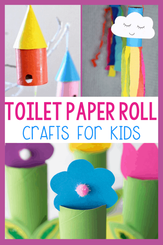 30+ toilet paper roll craft activities for kids! Use your empty paper rolls to make these nature activities for kids!