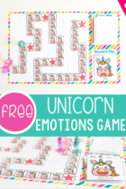 Learning about emotions is fun with this unicorn emotions game