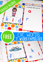 Your students will love these CVC literacy centers! Combine technology with learning while using these CVC word family activities.