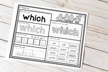 How can we help beginning readers improve their reading fluency? Two words: Sight Words! Using activities like these free printable second grade sight words worksheets are an awesome way to build fluency!