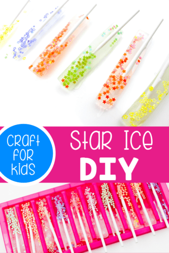 Star Ice Painting for kids! Star Ice | Ice Cube Painting | Ice Painting | Summer Kid's Activity | Star Ice | Life After C's