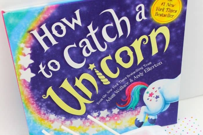 How to Catch a Unicorn book by Adam Wallace and Andy Elkerton.