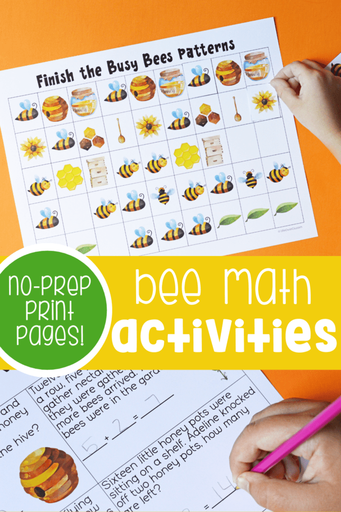 Bee Math Activities