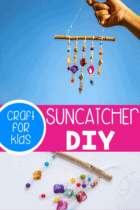 Easy DIY Suncatcher.