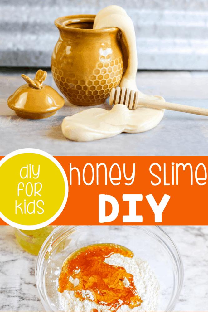 DIY Honey Slime