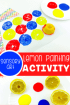 Lemon Painting Activity