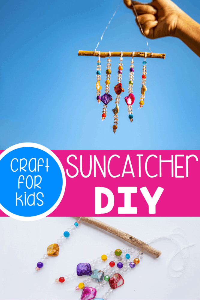 Easy DIY Suncatcher.