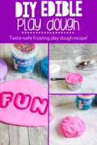 DIY Frosting Play Dough