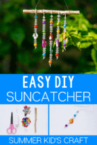 Easy DIY Suncatcher