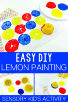 Easy DIY Lemon Painting