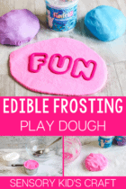Frosting Play Dough Recipe